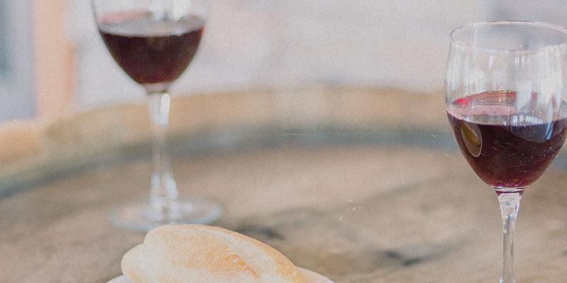 Brot und Traubensaft Abendmahl Community